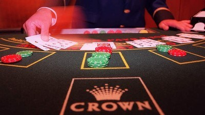Crown Casino Poker Tables