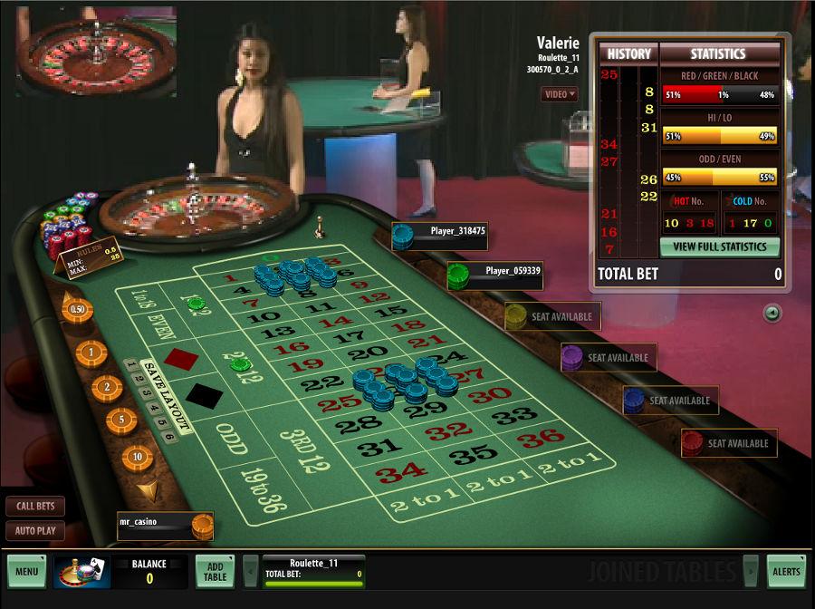 Live Dealer Roulette | Slotozilla