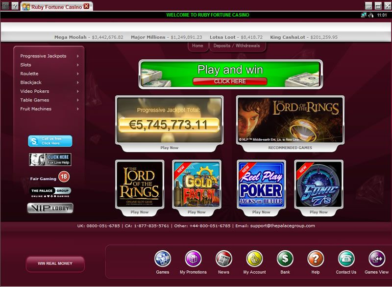 How to Find a Free Ruby Fortune Casino Slot Site
