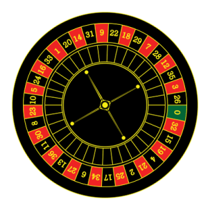 roulette table numbers